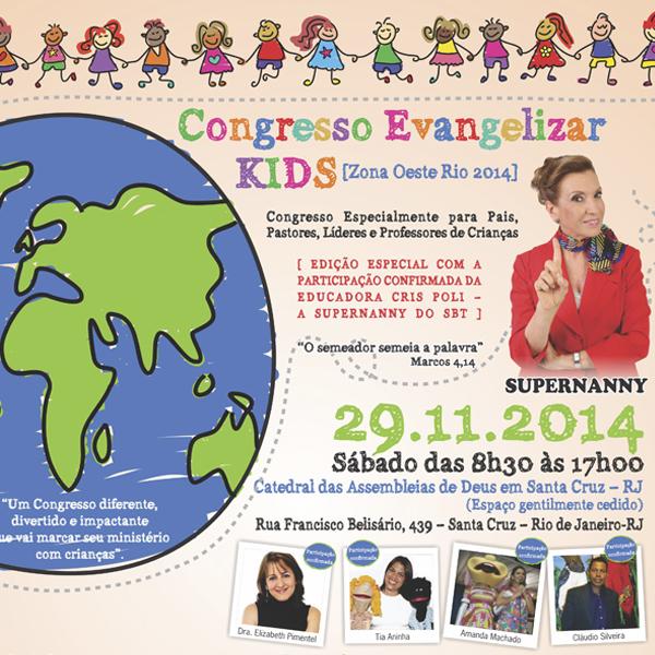 Congresso Evangelizar Kids