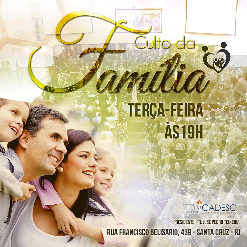 Culto da Familia 2016 - instagram